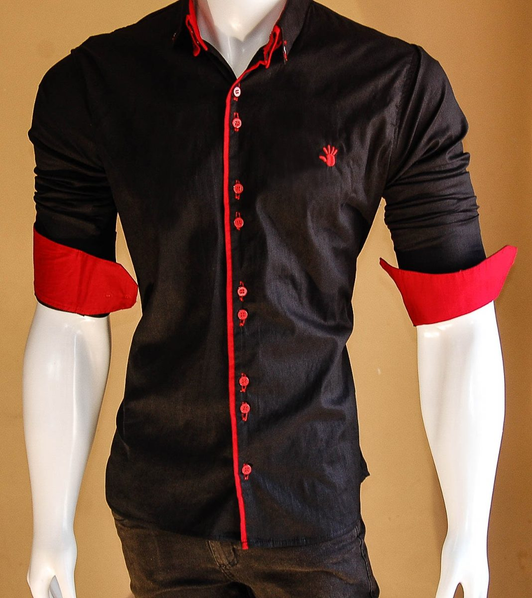 Nuevo 2016 Marca Hombres Camiseta Slim Fit Camisas