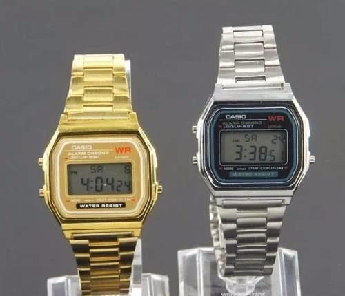 97124205e51 Atacado Kit 10 Relógios Casio Vintage Unisex Prata Dourado - R  249 ...