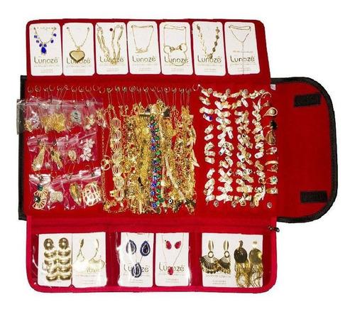 atacado kit contendo 90 peças folheadas para revenda
