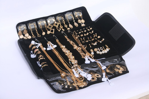 atacado kit semi joias 55 peças + mostruário grátis