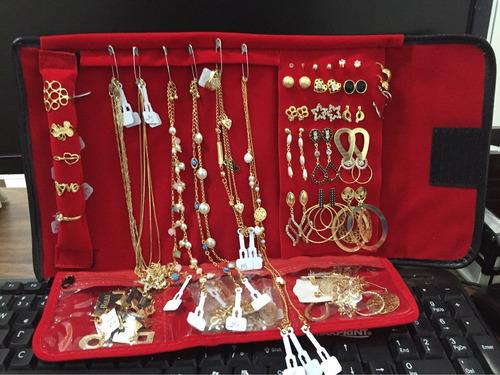 atacado kit semi joias 60 peças + mostruário grátis