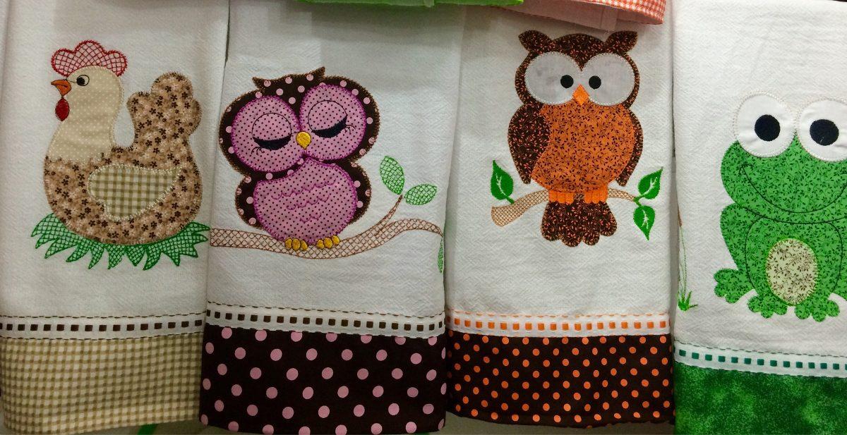 Atacado pano prato patchwork bordado barrado tecido 20 - Apliques infantiles de pared ...