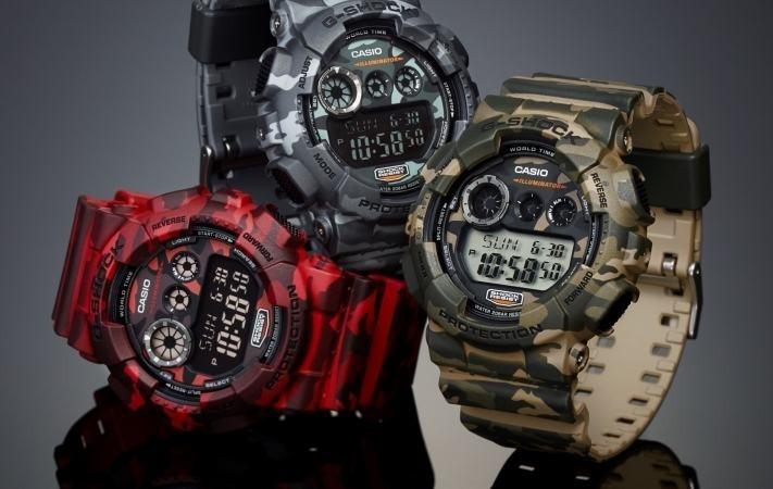 103dd1bb308 Atacado Relógio Casio G-shock Camuflado Digital Esportivo - R  41