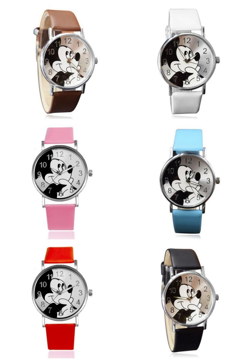 1ea68222905 Atacado Relógio Revenda Kit 6 Relógios Mickey Disney - R  120
