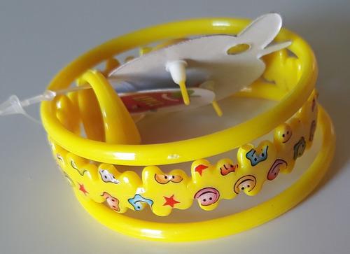 atacado revenda 12 pacote com pulseira brinco anel infantil