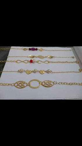 atacado semi joias anel, pulseira, gargantilha, argola