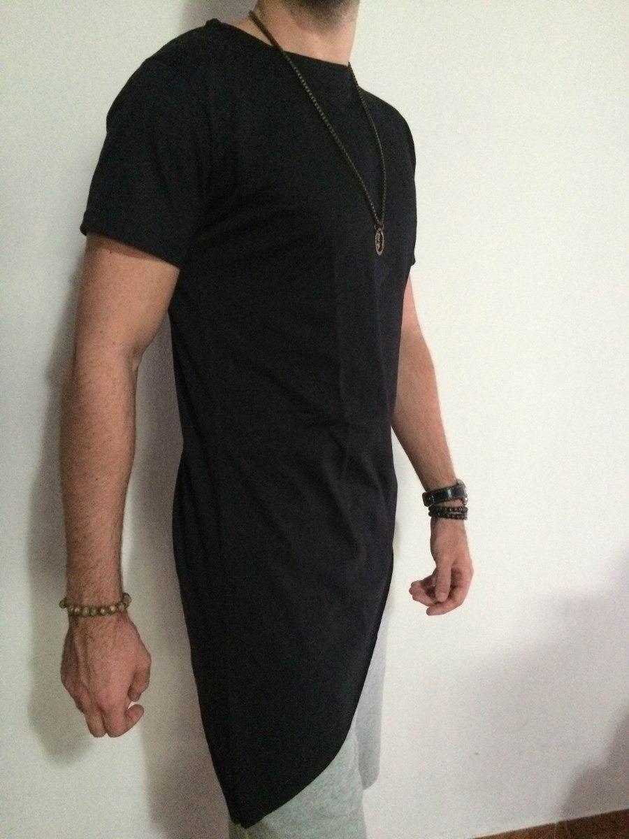 31d08a871 atacado10 camiseta masculina oversized swag longline ponta. Carregando zoom.