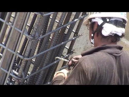 atadora de hierros vigas columnas herramienta construccion