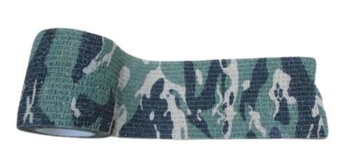 atadura elástica bandagem flexivel - tipo coban 5cm x 4,5m