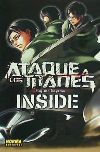 ataque a los titanes inside(libro shonen (acción - juvenil))