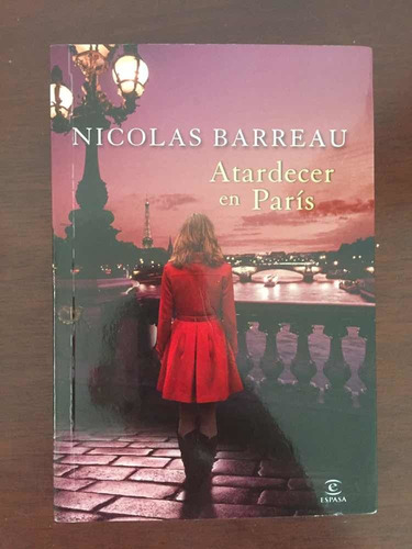 atardecer en paris nicolás barreau novela romantica