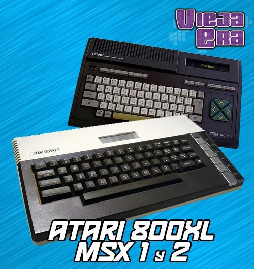 Atari 800xl Msx1 Y 2 Hyperspin 99 00 En Mercado Libre