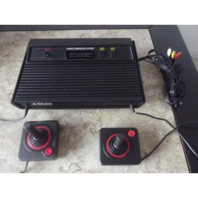 Atari Completo Com Av + Dois Controles E Jogos
