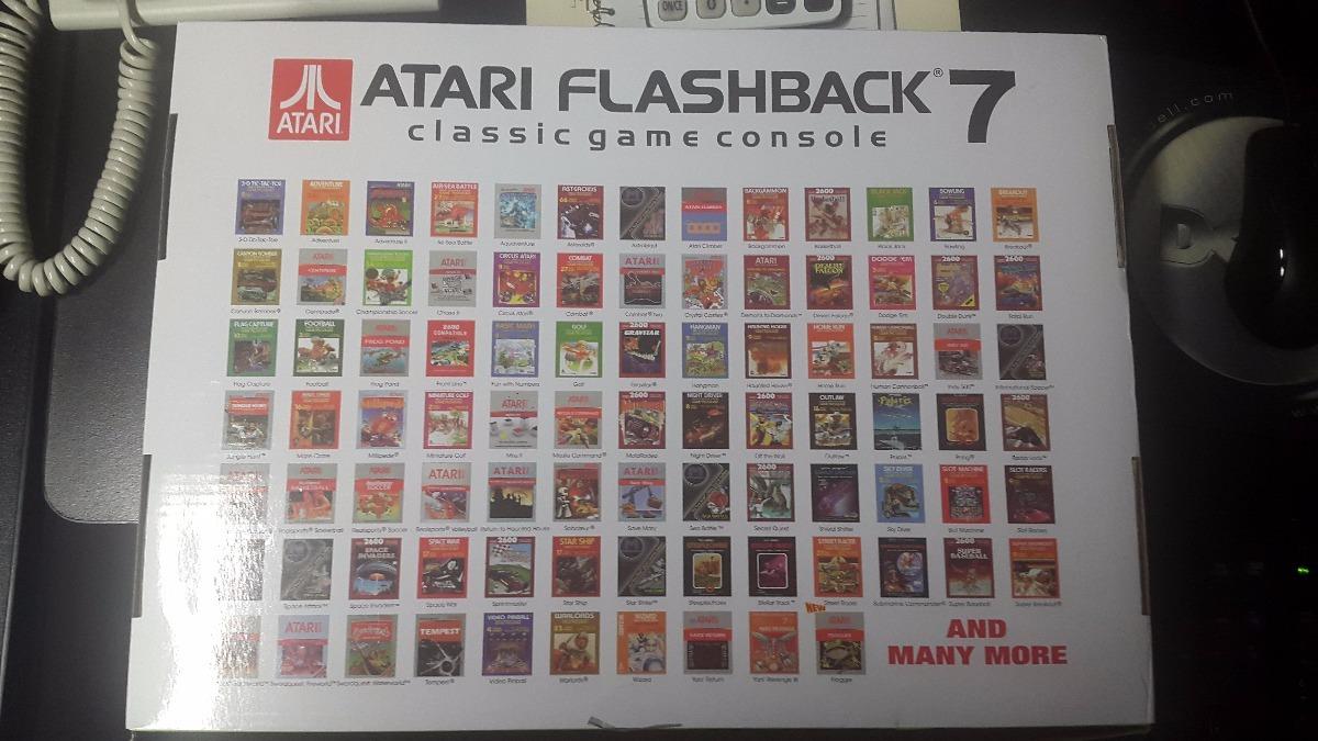 Atari Flashback 7 101 Juegos Originales 1 200 00 En Mercado Libre