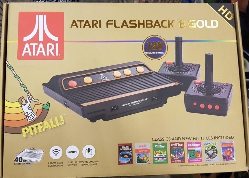 Atari Flashback 8 Gold 120 Juegos 40th Aniversary 2 782 00 En