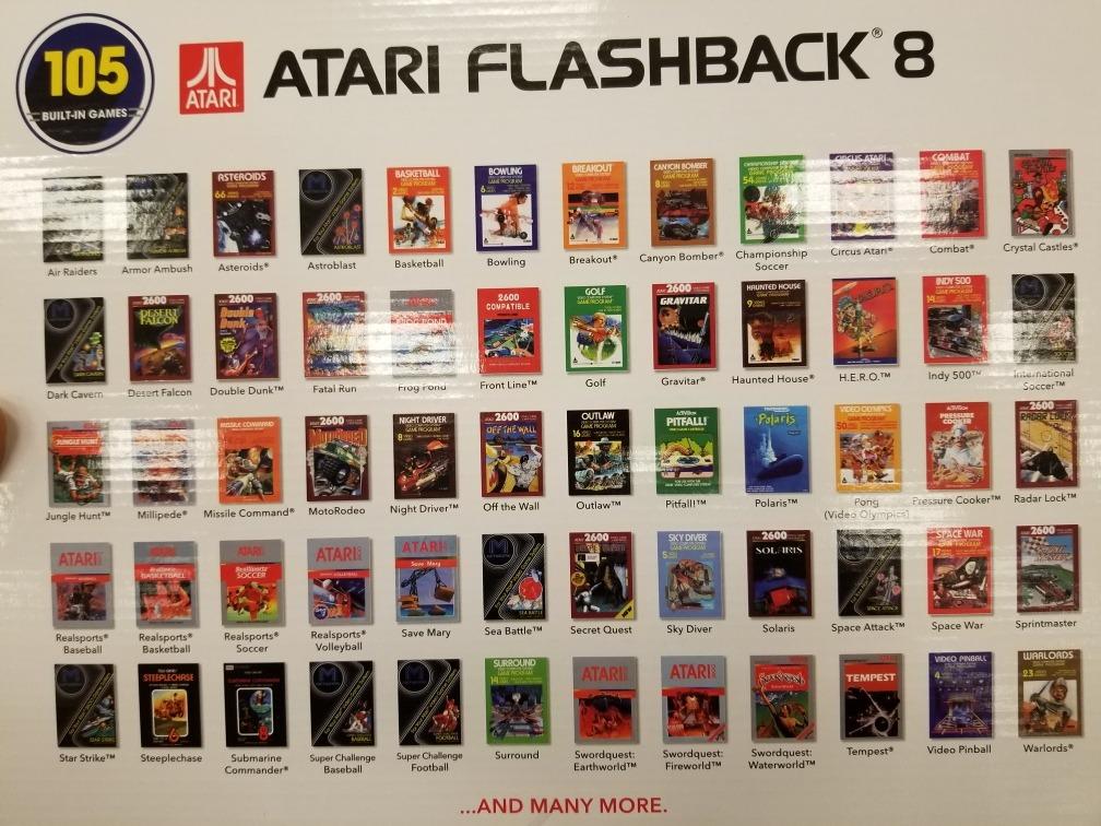 Atari Flashback 8 Original 105 Juegos 1 449 00 En Mercado Libre