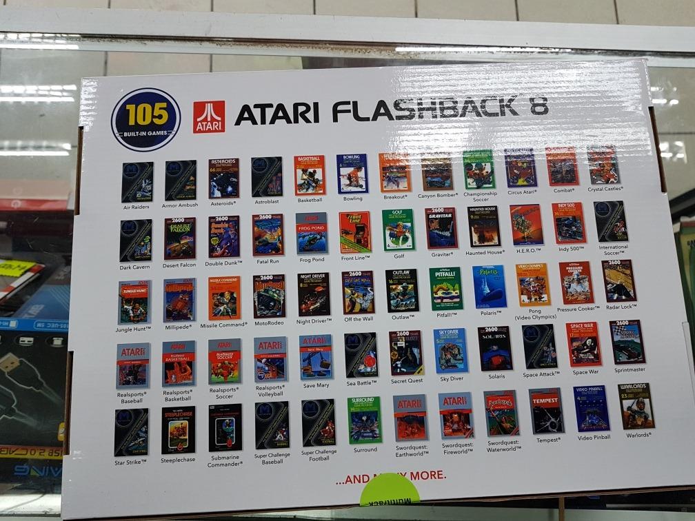 Atari Flashback 8 Sellado 105 Juegos Incluidos Envio Gratis
