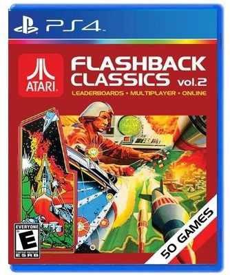 atari flashback classics volume 2 - juego físico ps4