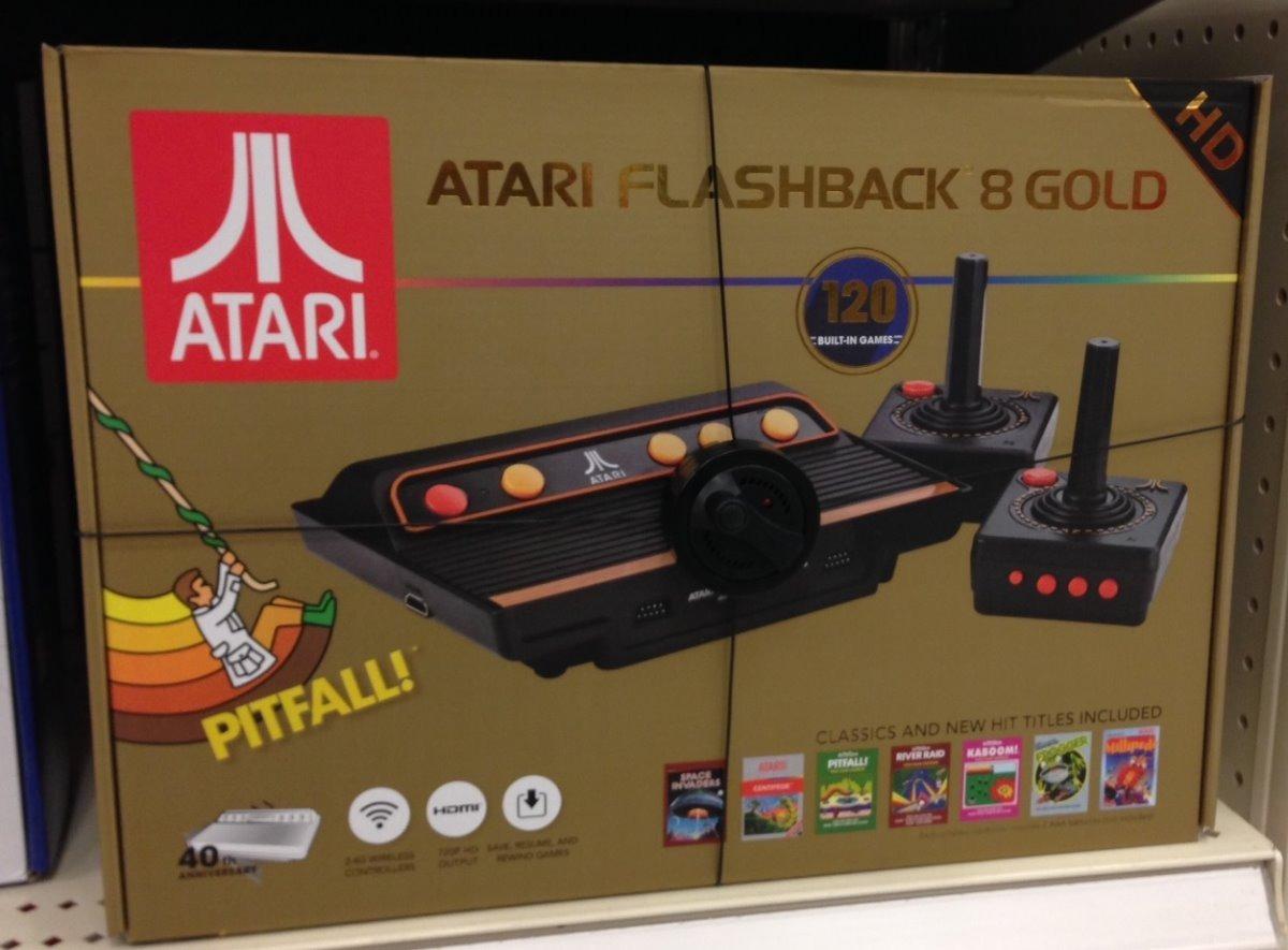 Atari Hdmi Flashback 8 Gold 120 Juegos 2 Control Inamabrico