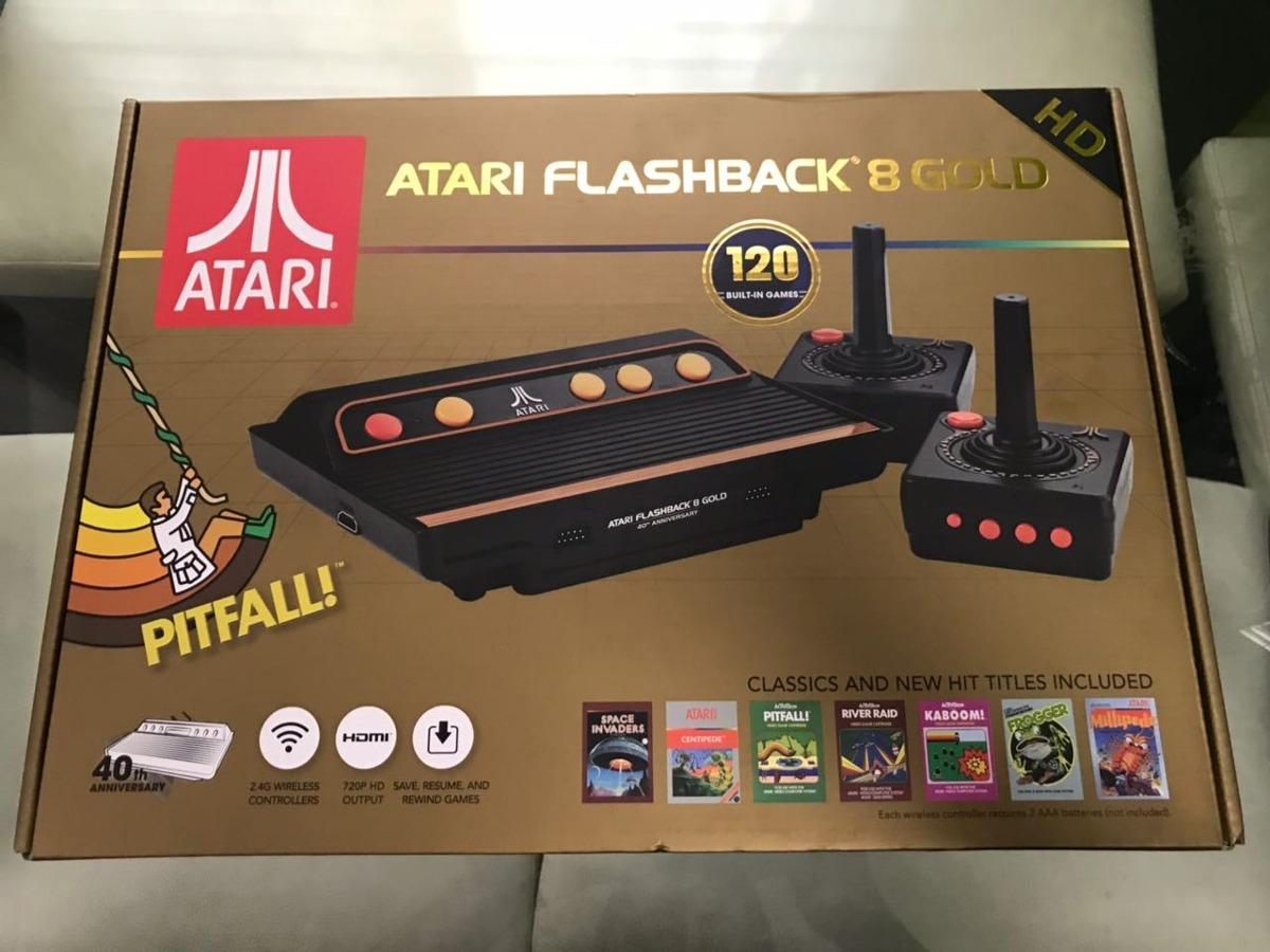 Atari Hdmi Flashback 8 Gold Dos Controles 120 Juegos 2 299 00 En
