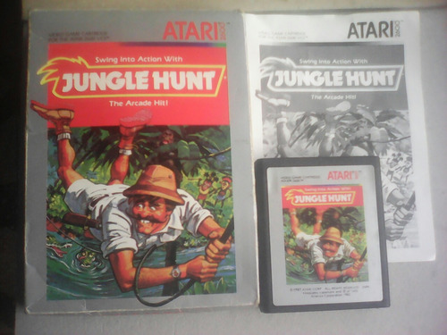 atari jungle hunt completo original