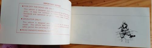 atc 90 manual del propietario owners