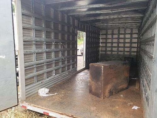 (atego 1719)  baú facchini caminhão toco 4x2 ano 2014