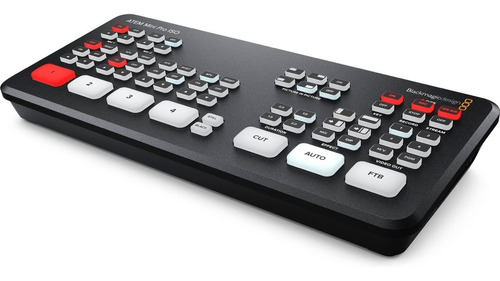 atem mini pro iso - mesa de vídeo blackmagic design