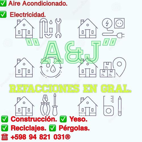 atención¿¿ (a&j)¿¿ soluciones en reformas del hogar.