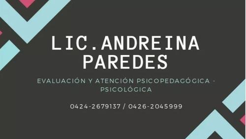 atención psicopedagogica nivelacion consultorio y on line