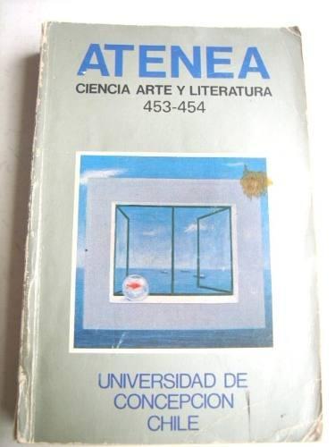 atenea, revista de ciencia, arte y literatura