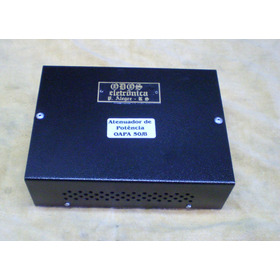 Atenuador De Potência P/amplificadores Até 50w, 8 O .- 127 -