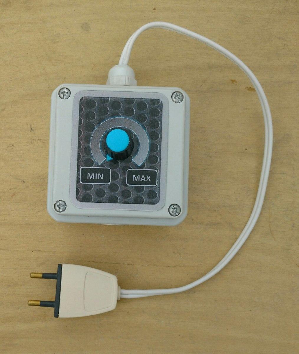 Atenuador Dimmer Regulador De Potencia Enchufable De 1200w 520