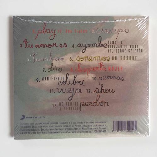 aterciopelados - claroscura - cd nuevo