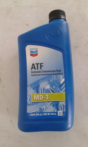 atf  3 aceite para transmisiones automáticas. 1 caja  8 pzas