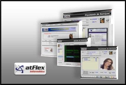 atflex - sistema biometrico academia ginástica musculação