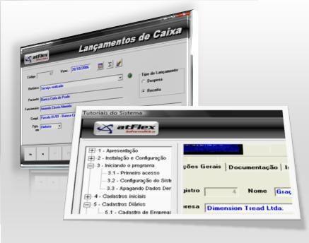 atflex - sistema integrado lojas informática ordem servico