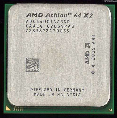 athlon 64 x2  4400+  2300mhz.