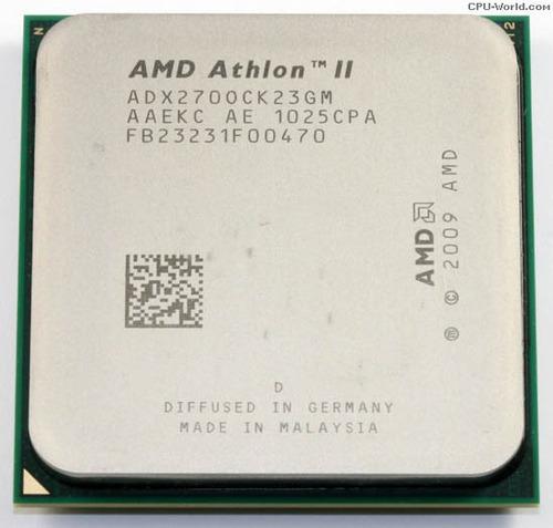 athlon ii 2 64 x2 270 3.4ghz socket am3 dual core e garantia