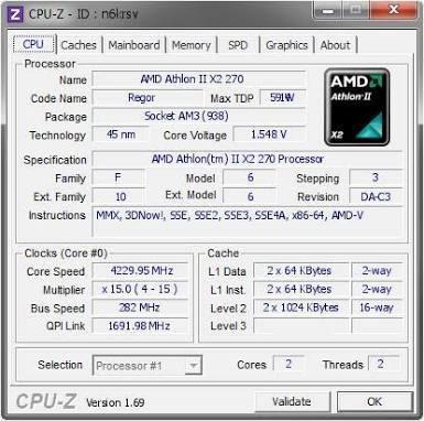 athlon x2 270 am3+