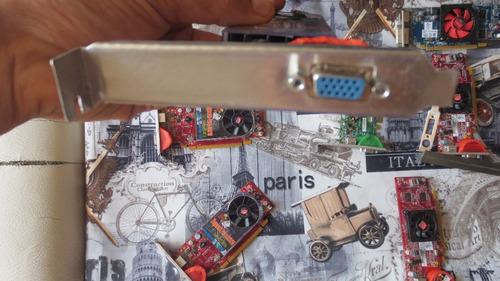 ati hd 3450 convertida a 1 salida vga platina en aluminio