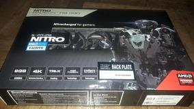 Placa De Video Sapphire Nitro R9 390 Backplate 8gb Ddr5