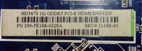 ati sapphire hd 5670 1gb ddr5 128 bits