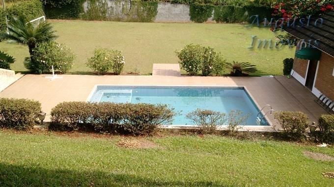 atibaia,piscina, 3 dormitórios, casa de caseiro