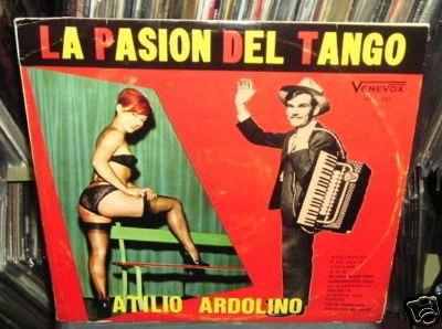atilio ardolino la pasion del tango vinilo venezolano