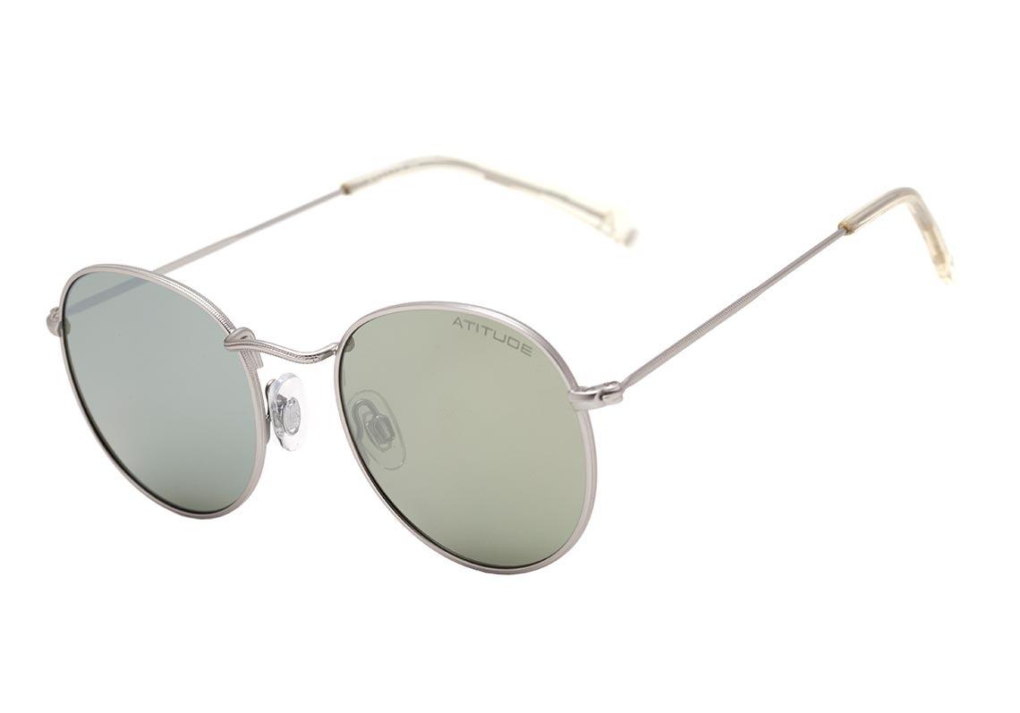 a3ec70048 atitude at 3191 - óculos de sol 03a cinza fosco/ verde. Carregando zoom.