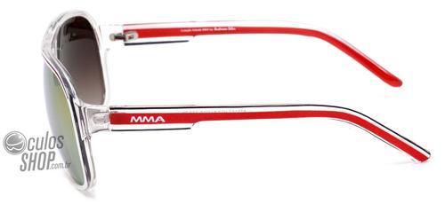 Atitude Mma At 5162 - Óculos De Sol H02 Branco E Vermelho  - R  69 ... 521c57e149