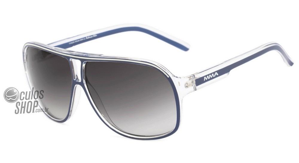 5c2e187af Atitude Mma At 5162 - Óculos De Sol H09 Azul E Transparente - R$ 99 ...
