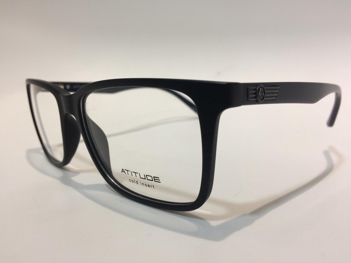 345cf719bf802 Atitude Oculos At4026 A01 57 17 140 - R  237,00 em Mercado Livre