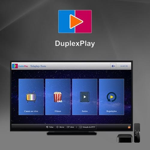 ativação duplexplay semestral